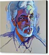 Portrait Of Paulinho - Guitarist-singer - In Progress 2 Canvas Print