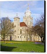 Portsmouth Cathedral At Springtime Canvas Print
