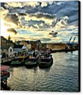 Portsmouth Harbor 2 Framed Print Can Be Seen On Set Of Abcs Desperate Housewives Canvas Print by Edward Myers