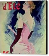 Poster Advertising Alcazar Dete Starring Kanjarowa  Canvas Print