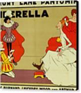 Poster For Cinderella Canvas Print
