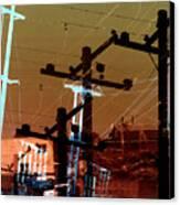Power 4 Canvas Print by Ann Tracy