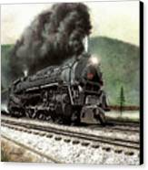 Power On The Curve Canvas Print by David Mittner