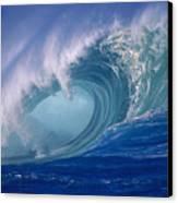 Powerful Surf Canvas Print