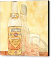 Powers Irish Whiskey Canvas Print by Ken Powers