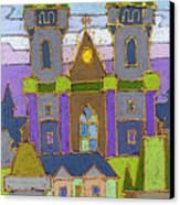 Prague Panorama Canvas Print by Yuriy  Shevchuk