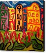 Prague Squared Canvas Print