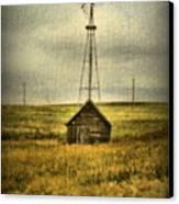 Prairie Pump Canvas Print