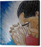 Pray For Peace Canvas Print by Keenya  Woods