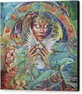 Prayer For Peace Canvas Print