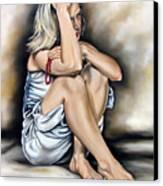 Prayer II Canvas Print by Ilse Kleyn