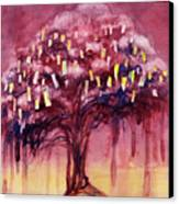 Prayer Tree II Canvas Print by Janet Chui