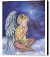 Praying Angel Canvas Print