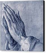 Praying Hands, Art By Durer Canvas Print by Sheila Terry