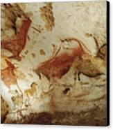 Prehistoric Artists Painted Robust Canvas Print