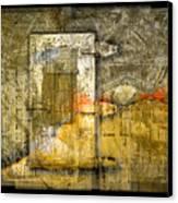 Presidio Door Canvas Print