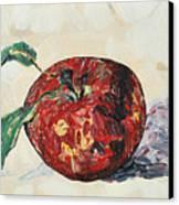 Pretty Apple Canvas Print