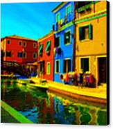 Primary Colors 2 Canvas Print