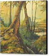 Primordial Exploration Canvas Print