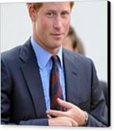 Prince Harry At A Public Appearance Canvas Print