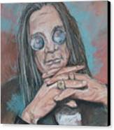Prince Of Darkness Canvas Print by Sandra Valentini