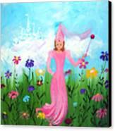 Princess Kennedy's Garden Canvas Print