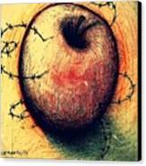 Prison Of Human Desire Canvas Print by Paulo Zerbato