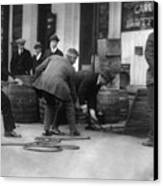 Prohibition, Prohibition Officers Canvas Print