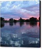 Prosser Pink Sunset 5 Canvas Print
