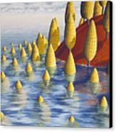 Protea Madida Canvas Print