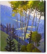 Proud Aspen Canvas Print by Susan McCullough