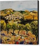 Provence 10080 Canvas Print