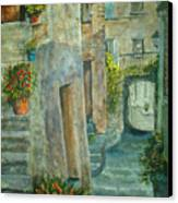 Provence Alley Canvas Print