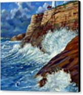 Psalm Forty Three-three Canvas Print