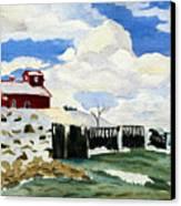 Pt Betsie Canvas Print