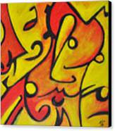 Pucker Up Canvas Print by David Weingaertner