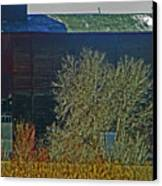 Pueblo Downtown-sweeny Feed Mill 6 Canvas Print by Lenore Senior