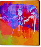 Pulp Fiction 2 Canvas Print by Naxart Studio