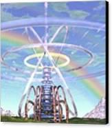 Pulsar Beacon Canvas Print