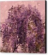Purple Pleasures Canvas Print