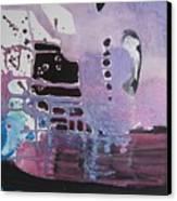 Purple Seascape Canvas Print