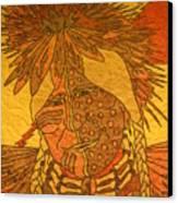 Purple Warrior Canvas Print by Austen Brauker