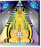 Pyramid2 Canvas Print