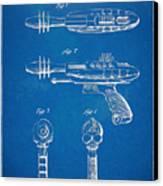 Pyrotomic Disintegrator Pistol Patent Canvas Print