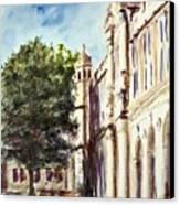 Quad South Facade Canvas Print