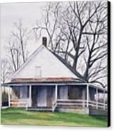 Quaker Meeting House Canvas Print by Tom Dorsz
