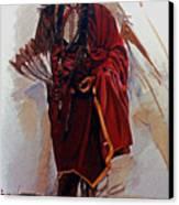 Quannah Parker Canvas Print by Harvie Brown