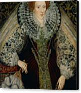 Queen Elizabeth I Canvas Print by John the Younger Bettes