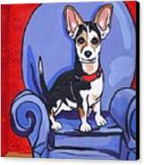Queen Lucy Canvas Print by Laura Brightwood