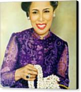 Queen Sirikit2 Canvas Print